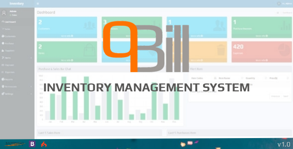 qBill - Inventory Management System