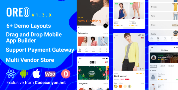 Codecanyon | Oreo Fashion - Full React Native App for Woocommerce Free Download #1 free download Codecanyon | Oreo Fashion - Full React Native App for Woocommerce Free Download #1 nulled Codecanyon | Oreo Fashion - Full React Native App for Woocommerce Free Download #1