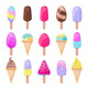 Colorful Tasty Ice Cream - GraphicRiver Item for Sale