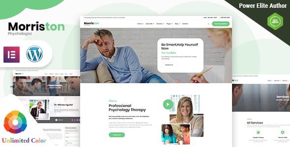 Morriston - Psychologist & Counseling WordPress Theme