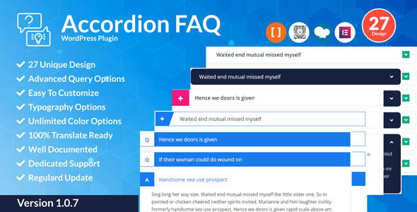Photo of Akordeon SSS WordPress Eklentisi Full Download