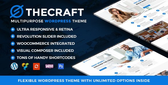 TheCraft | Responsive Multipurpose WordPress Theme