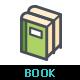 Book Color Icon - GraphicRiver Item for Sale