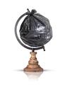 trash bag globe - PhotoDune Item for Sale