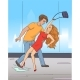 Man Catches a Woman - GraphicRiver Item for Sale