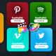 Social Media Trendy Lowerthirds - VideoHive Item for Sale