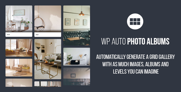Auto Photo Albums – Wordpress Multi Level Image Grid Gallery Download