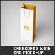 Cardboard Wine Bag Mock-Up - GraphicRiver Item for Sale