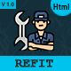 Refit - Computer & Mobile Repair HTML5 Template - ThemeForest Item for Sale