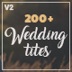 Wedding Titles for After Effects - VideoHive Item for Sale
