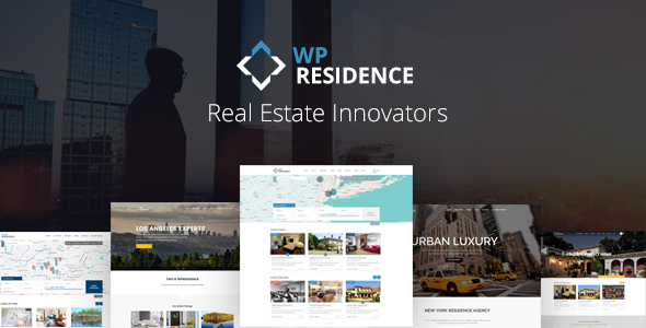 Residence Real Estate WordPress Theme