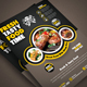 Restaurant Flyers - GraphicRiver Item for Sale