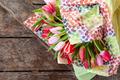 Colorful fresh tulips - PhotoDune Item for Sale