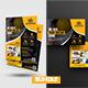 Construction Flyer & Postcard Bundle - GraphicRiver Item for Sale