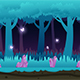 Game Background Magic Forest - GraphicRiver Item for Sale