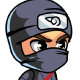 Ninja  2D Game Charcter Sprites - GraphicRiver Item for Sale
