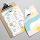 Colored Menu Template - GraphicRiver Item for Sale