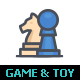 Game & Toy Color Icon - GraphicRiver Item for Sale