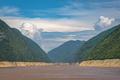 Cargo and passenger ships on Yangtze river - PhotoDune Item for Sale