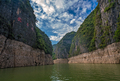 Deep vertical canyon walls of the Shennong Xi Stream - PhotoDune Item for Sale