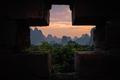 Yangshuo landscape at dusk - PhotoDune Item for Sale