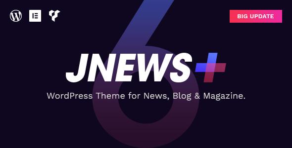 JNews - WordPress Newspaper Magazine Blog AMP Theme