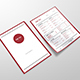 Menu Red Dot Template - GraphicRiver Item for Sale