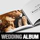 Wedding Photo Album Horizontal Brochure Template - InDesign - GraphicRiver Item for Sale