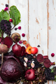Collection of Fresh Purple Fruits and Vegetables - PhotoDune Item for Sale