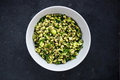 Healthy and Herby Salad with Wheatberries and Green Vegetables - PhotoDune Item for Sale