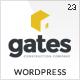 Gates - Construction, Building Business WP - ThemeForest Item for Sale