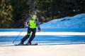 Skier practicing technical ski exercises - PhotoDune Item for Sale