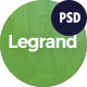 LeGrand - A Modern Multi-Purpose Business PSD Template - ThemeForest Item for Sale