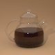 Glass kettle with cap - 3DOcean Item for Sale