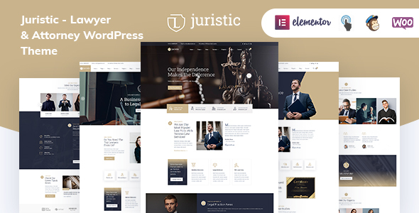Juristic - Lawyer & Attorney WordPress Theme