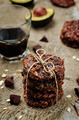 vegan avocado cashew butter oats chocolate cookies - PhotoDune Item for Sale
