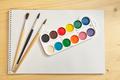 Paint brush and album. - PhotoDune Item for Sale
