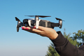 Drone landing on a woman hand - PhotoDune Item for Sale
