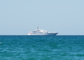 Yacht in ocean. - PhotoDune Item for Sale