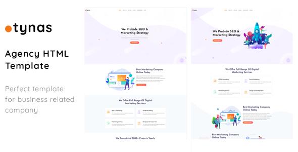 Tynas - Creative Digital Agency & Multipurpose