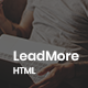 LeadMore - HTML5 Landing Page - ThemeForest Item for Sale