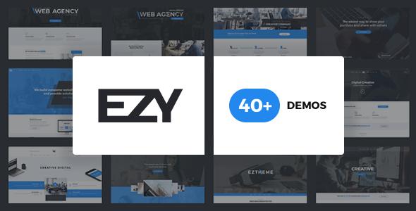 EZY - Responsive Multi-Purpose WordPress Theme
