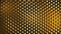 Abstract image of a pattern of yellow hexagons - PhotoDune Item for Sale