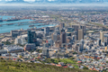 Aerial view of the Central Business District of Cape Town - PhotoDune Item for Sale
