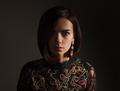 fashionable woman on dark background - PhotoDune Item for Sale