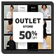 Outlet Store // Short // Medium // Long - VideoHive Item for Sale