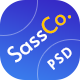 SassCo - SaSS, App Landing Page & Startups PSD Template - ThemeForest Item for Sale