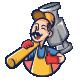Fix It ! Mascot Logo - GraphicRiver Item for Sale