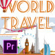 World Travel Titles - Premiere Pro - VideoHive Item for Sale