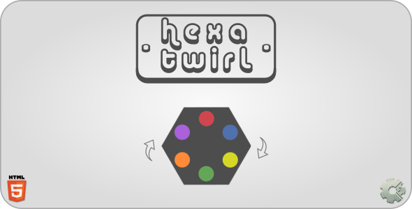 hexaTwirl - HTML5 Casual Game